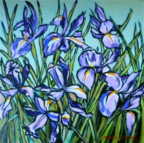 'Irises'