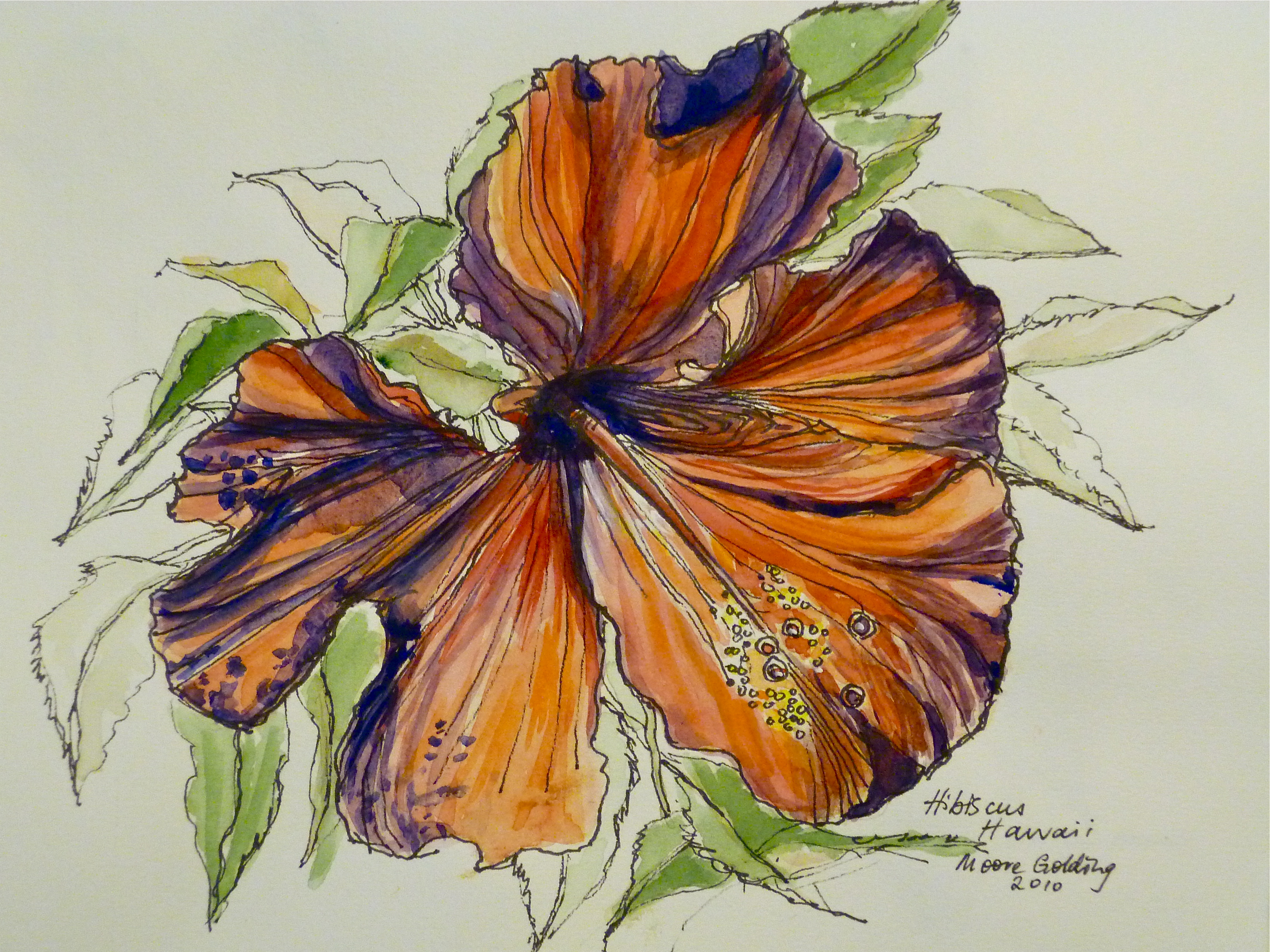 Hawaiian flowers elizabeth moore golding read izmirmasajfo