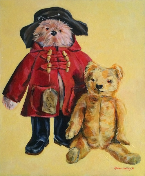 Bears with attitude 51x61cm