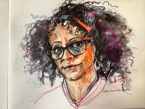 A portrait of Bernadine Evaristo